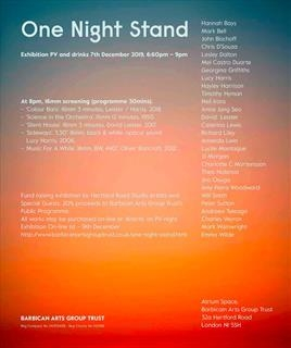 Richard Liley - One Night Stand